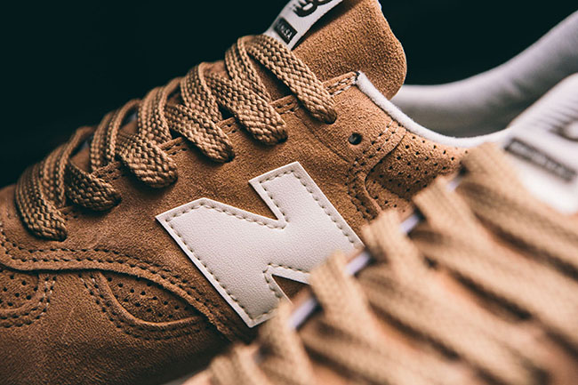 New Balance M990CER Brown Suede