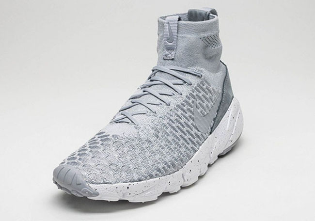 Nike Air Footscape Magista Flyknit Wolf Grey