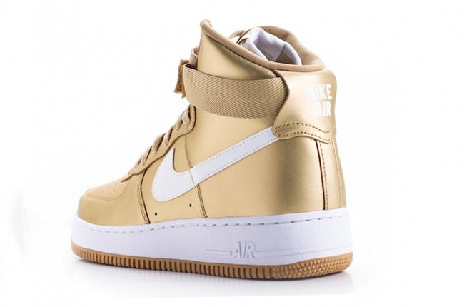 Nike Air Force 1 High Liquid Gold