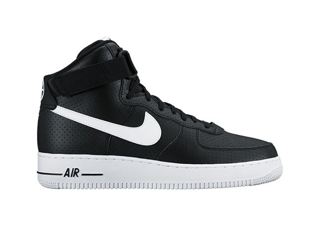 Nike Air Force 1 High Perforated Black