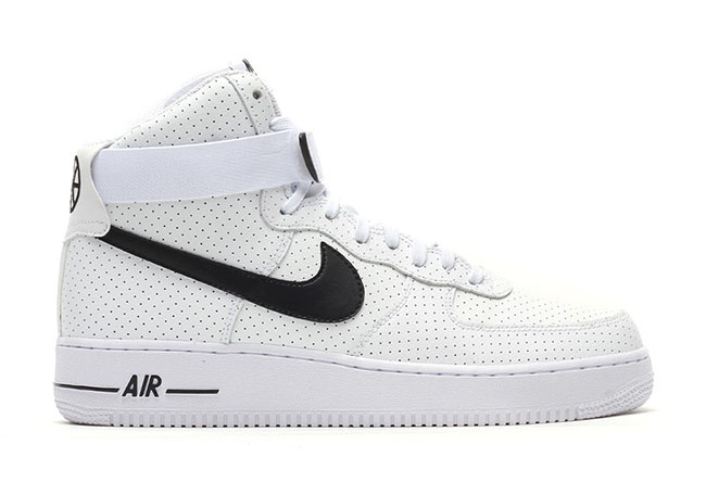 Nike Air Force 1 High Perforated White