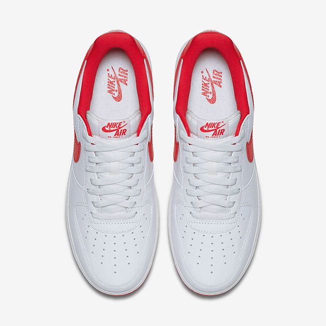 Nike Air Force 1 Low QS OG White University Red