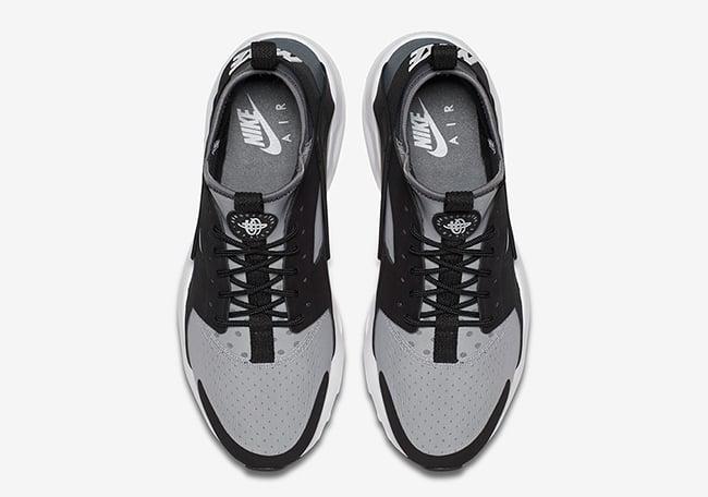 Nike Air Huarache Ultra Wolf Grey Black | SneakerFiles