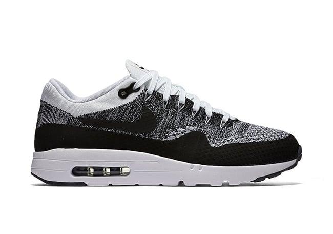 Nike Air Max 1 Flyknit Black White