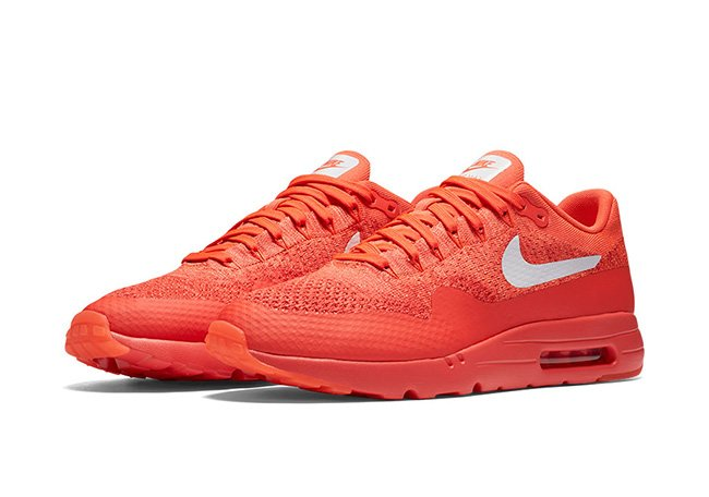 Nike Air Max 1 Ultra Flyknit Bright Crimson