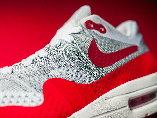Nike Air Max 1 Ultra Flyknit Sport Red | SneakerFiles