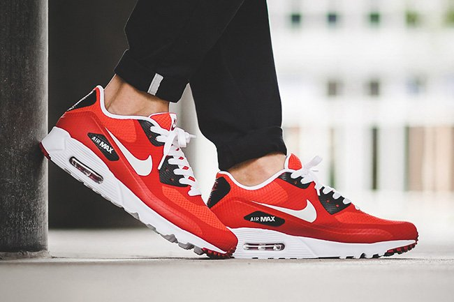 Nike Air Max 90 Ultra Essential Action Red | SneakerFiles