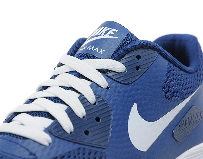 Nike Air Max 90 Ultra Essential Blue White | SneakerFiles
