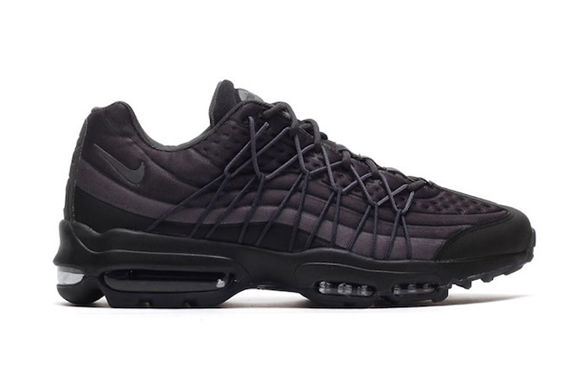 Nike Air Max 95 Ultra SE Black Dark Grey Anthracite