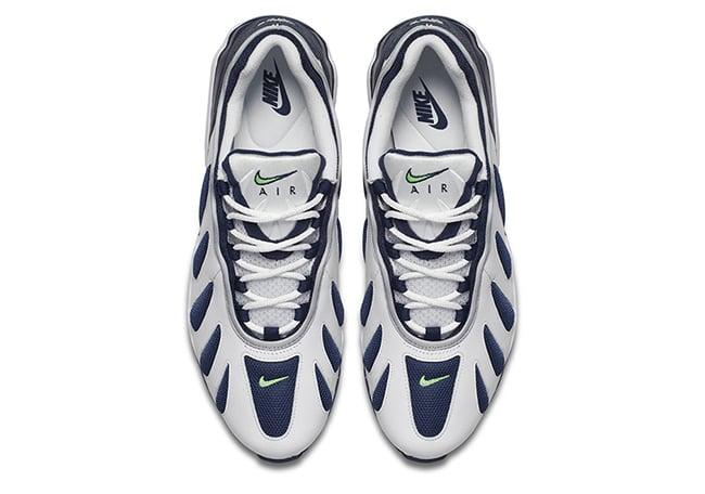 Nike Air Max 96 Retro 2016 White Blue Neon Scream Green