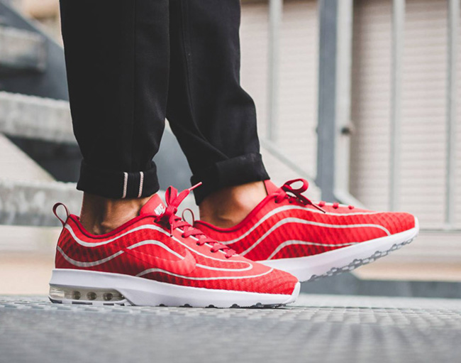 Nike Air Max Mercurial 98 University Red