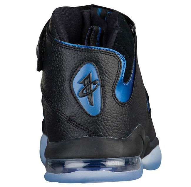 Nike Air Penny 4 2017 Black Blue Orlando
