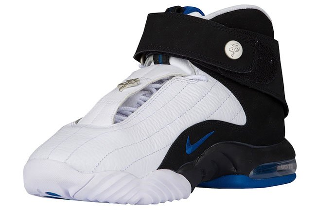 Nike Air Penny 4 2017 White Blue Orlando