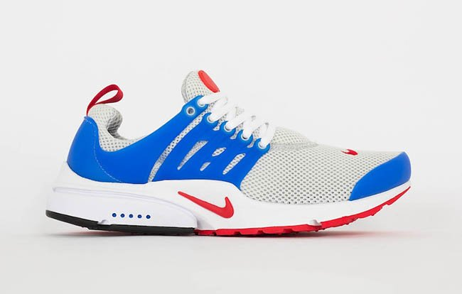huge selection of cd693 a78ff Nike Air Presto Essential Dusty Grey Blue Red