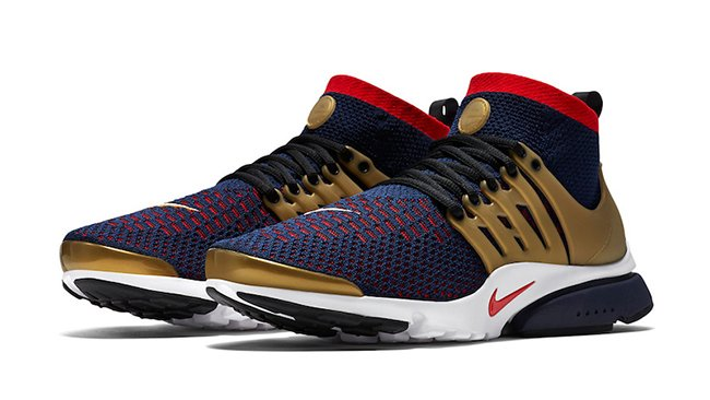 new arrival 2c75a 30154 Nike Air Presto Ultra Flyknit Olympic