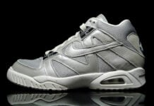 Nike Air Tech Challenge 3 French Open Metallic Silver