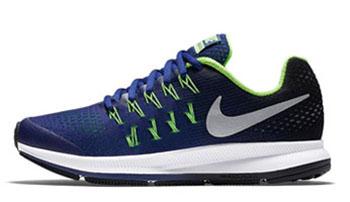 Nike Air Zoom Pegasus 33 Deep Royal Blue Boys