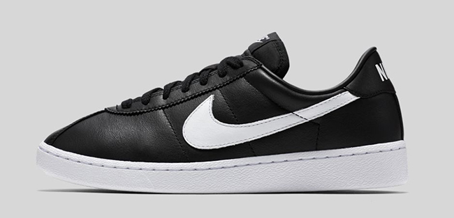 a06001fedf77 Nike Bruin Leather Black White