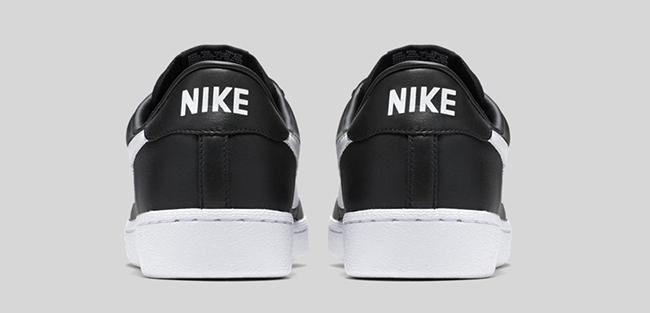 the latest a1e5b 63ec6 Nike Bruin Leather Black White