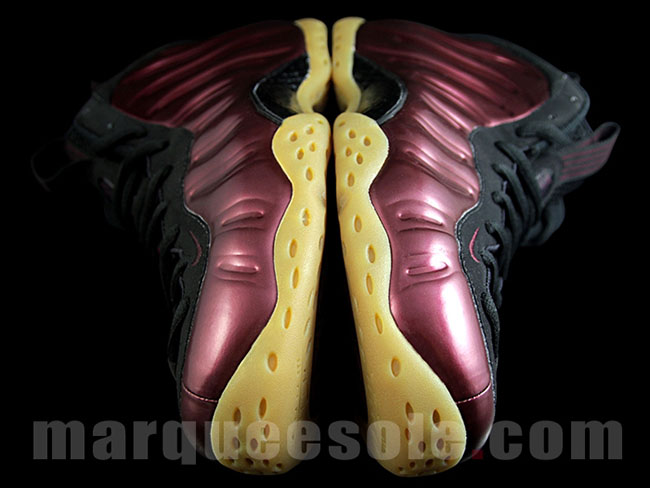 Nike Foamposite One Candy Apple Maroon Gum