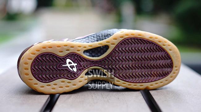 Nike Foamposite One Maroon Gum
