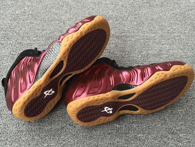 Nike Foamposite One Maroon Release Date