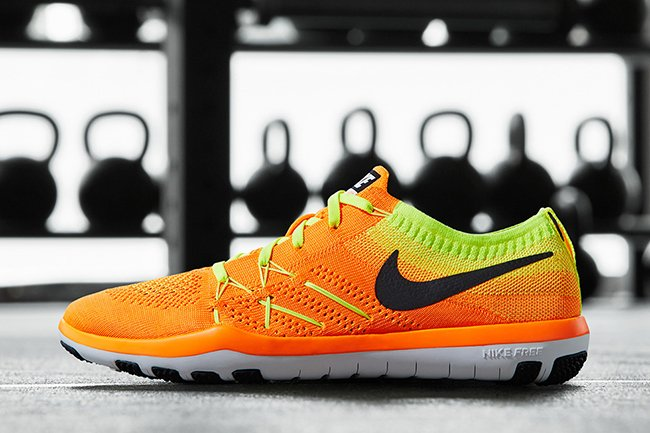 Nike Free TR Focus Flyknit Orange
