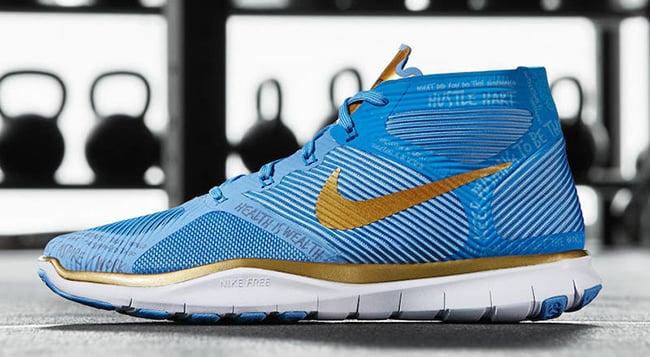 Nike Free Train Instinct Hart Blue