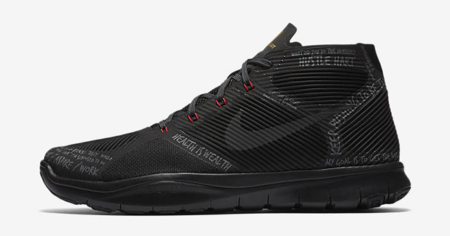 Nike Free Train Instinct Hustle Hart Black
