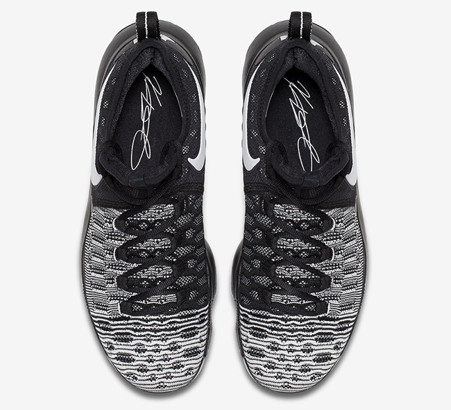 Nike KD 9 Mic Drop Black White