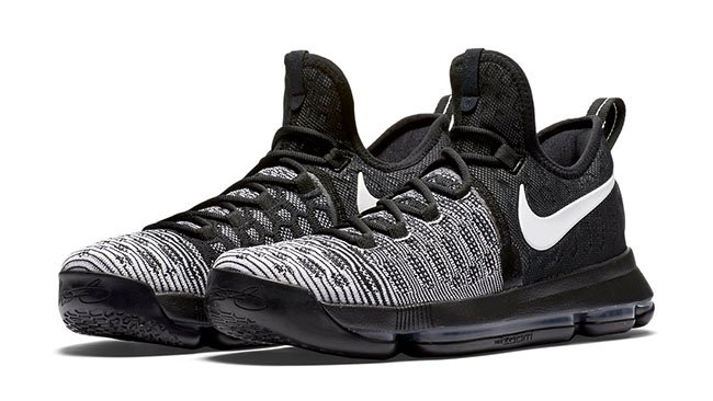 outlet store 6578c 72c0e Nike KD 9 Mic Drop Black White
