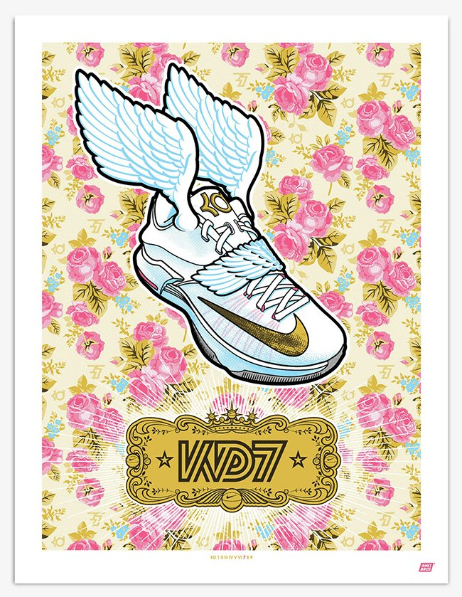 Nike KD Signature Sneakers Illustrated