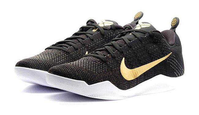 on sale 11c0f 14d37 Nike Kobe 11 GCR Black Gold