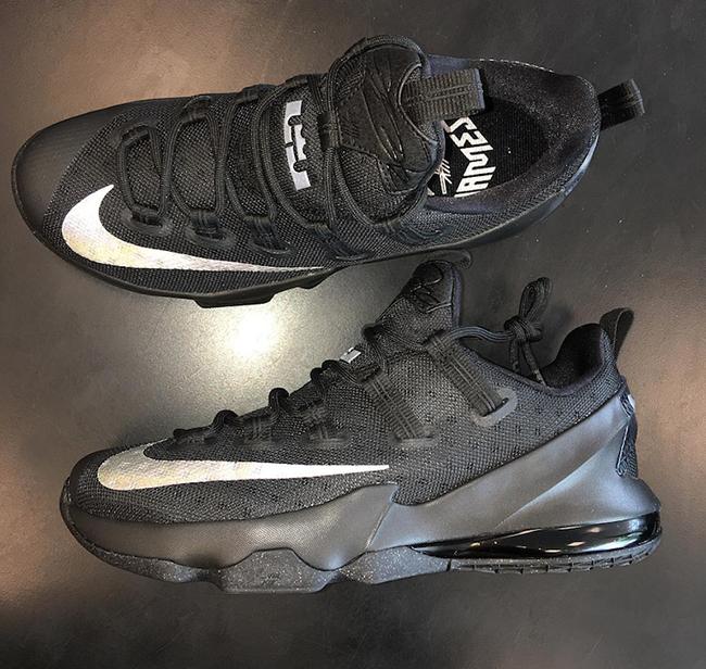 Nike LeBron 13 Low Black Silver