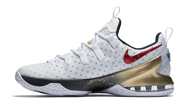 Nike LeBron 13 Low Olympic Release
