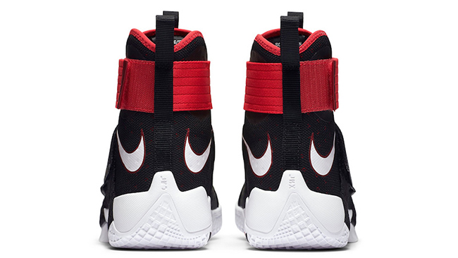 Nike LeBron Soldier 10 Bred Black Red