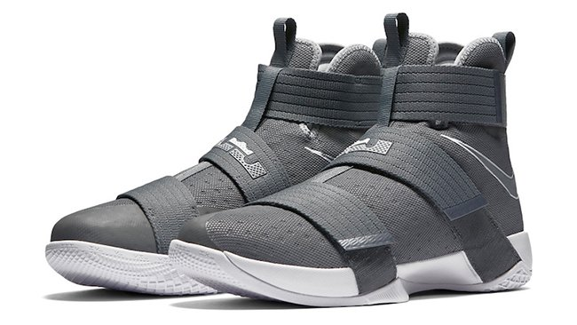 Nike LeBron Soldier 10 Cool Grey cheap