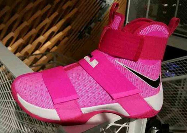 Nike LeBron Soldier 10 Kay Yow Think Pink
