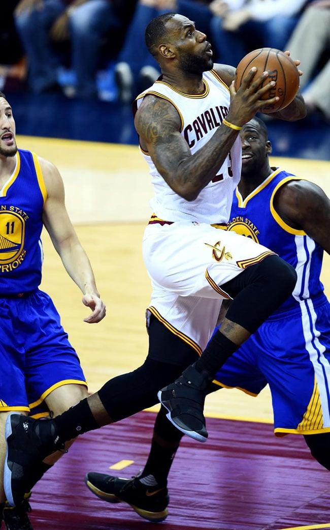 super popular 2d13a d81bd Nike LeBron Soldier 10 NBA Finals Game 3