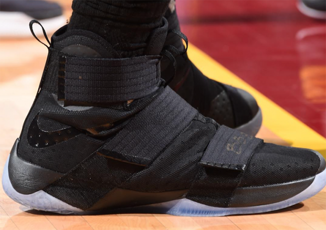 ebaec2ec78232 Nike LeBron Soldier 10 NBA Finals Game 3