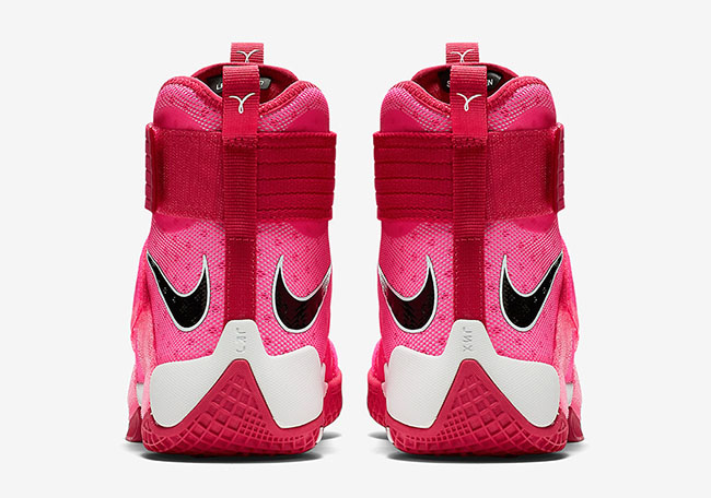 Nike LeBron Soldier 10 Think Pink Kay Yow Release Date