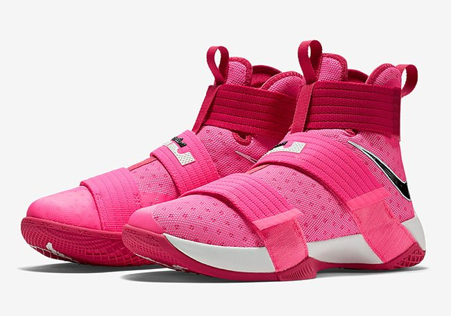 purchase cheap b1f07 92f95 Nike LeBron Soldier 10 Think Pink Kay Yow Release Date
