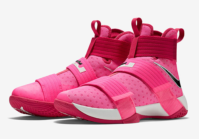 d5d3547ba9d8 Nike LeBron Soldier 10 Think Pink Kay Yow Release Date
