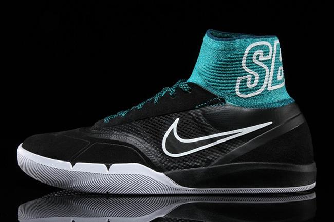 Nike SB Koston 3 Hyperfeel Rio Teal SB Branding