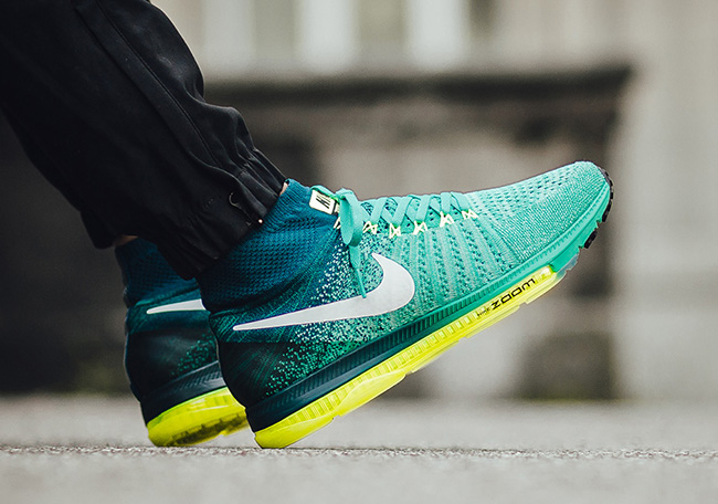 Nike Zoom All Out Flyknit Clear Jade