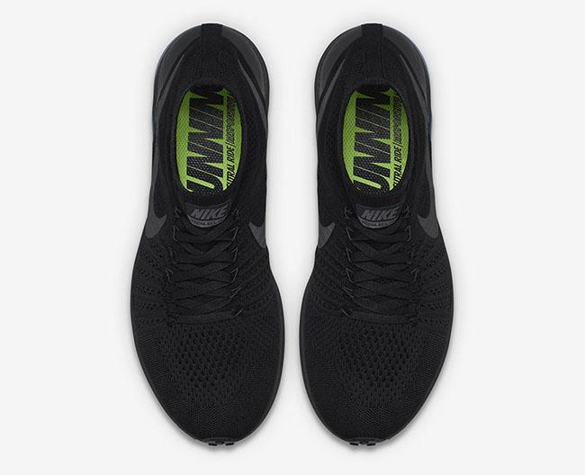 Nike Zoom All Out Flyknit Triple Black