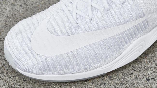 Nike Zoom Mercurial Flyknit Triple White