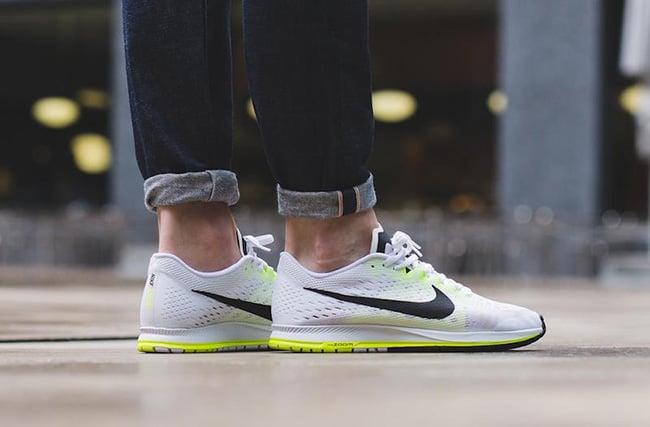 c99d84de2470 Nike Zoom Streak 6 White Black Volt
