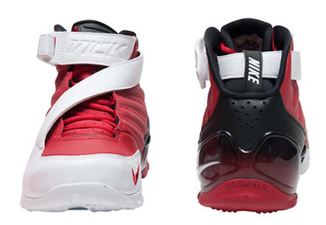 Nike Zoom Vick 3 Red White Black