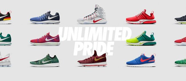 NikeID Pride Unlimited Collection 2016 Olympics Rio